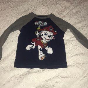 Old Navy 4T paw patrol shirt